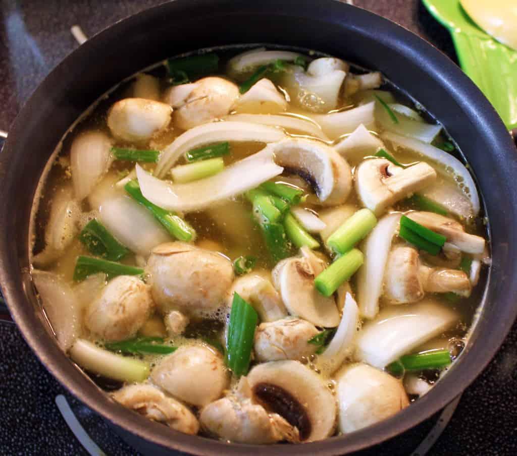 Japanese Hibachi Soup