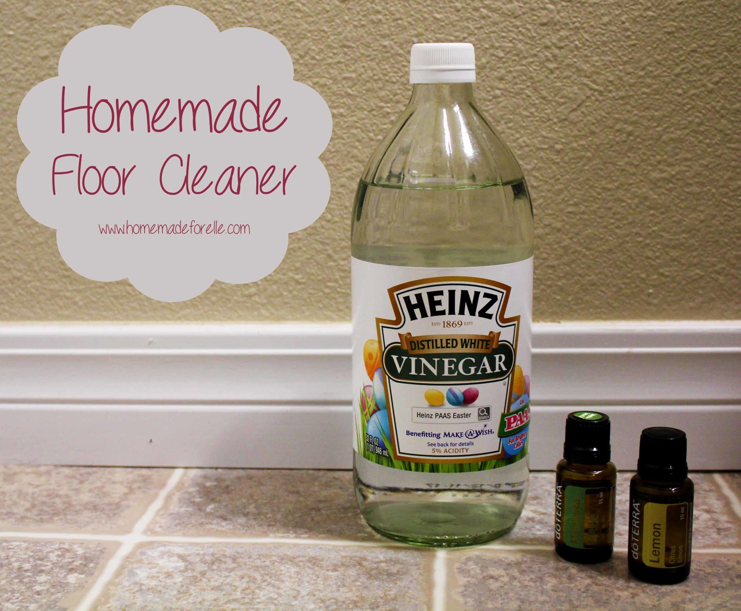 Homemade Floor Cleaner