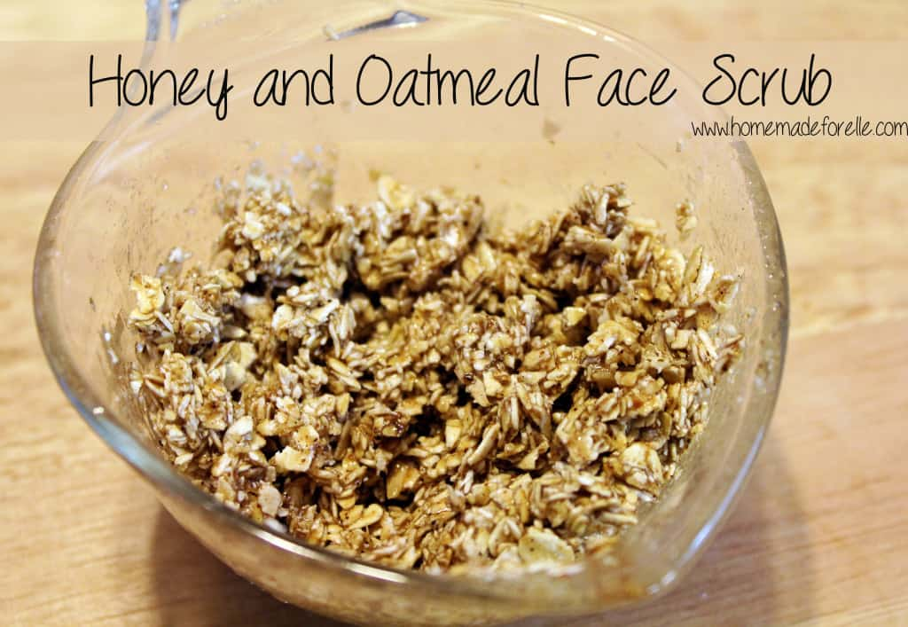 13 simple exfoliating face scrubs homemade for elle honey and oatmeal face scrub 1024x707 solutioingenieria Gallery