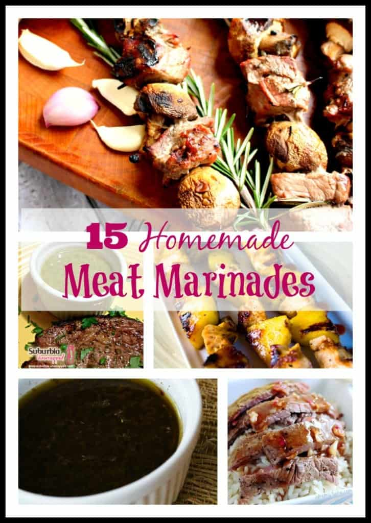 15 Homemade Meat Marinades