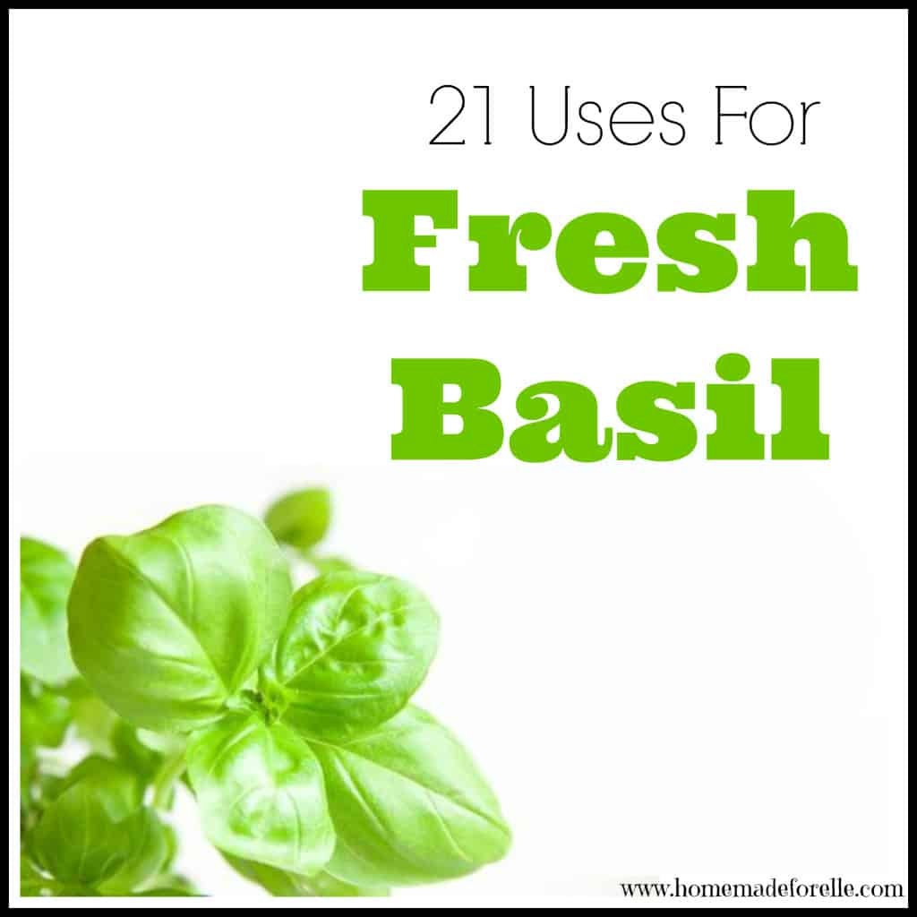 Uses for Fresh Basil