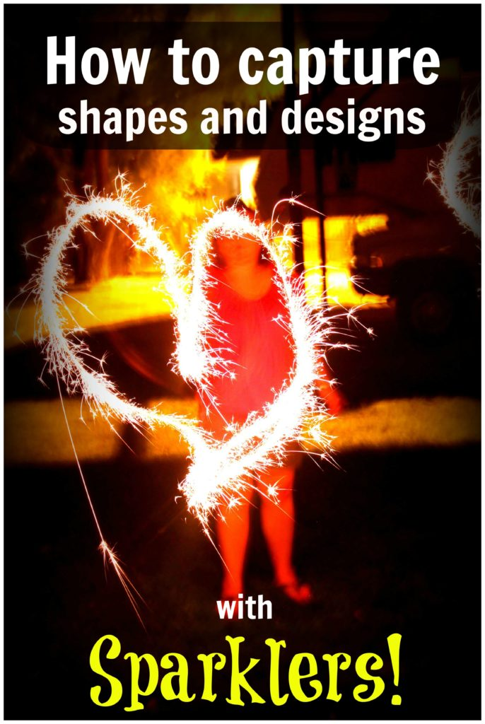 How to Capture Shapes with Sparklers