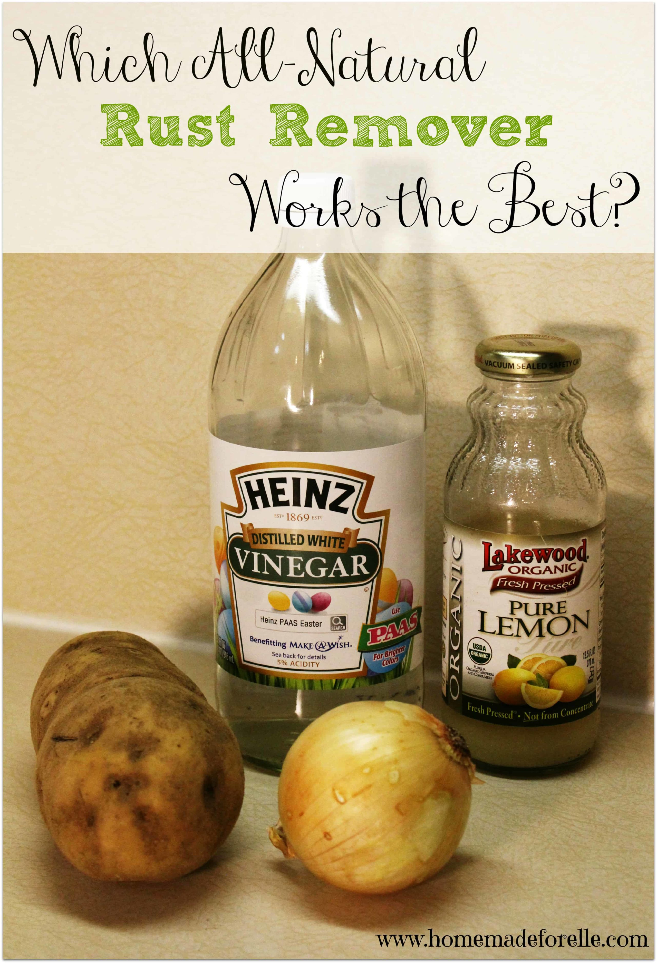Which All Natural Rust Remover Works The Best?