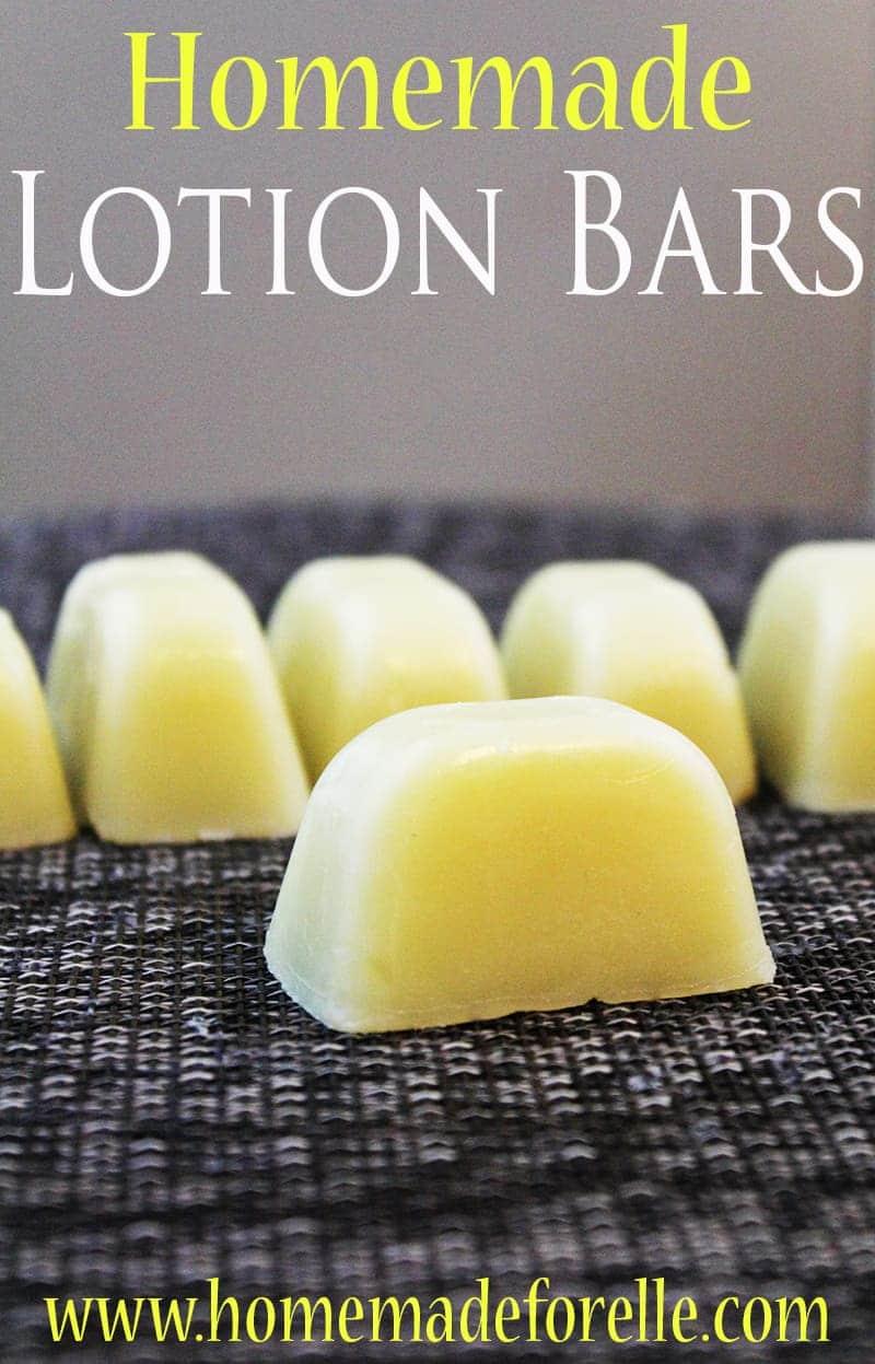 Homemade Lotion Bar Recipe