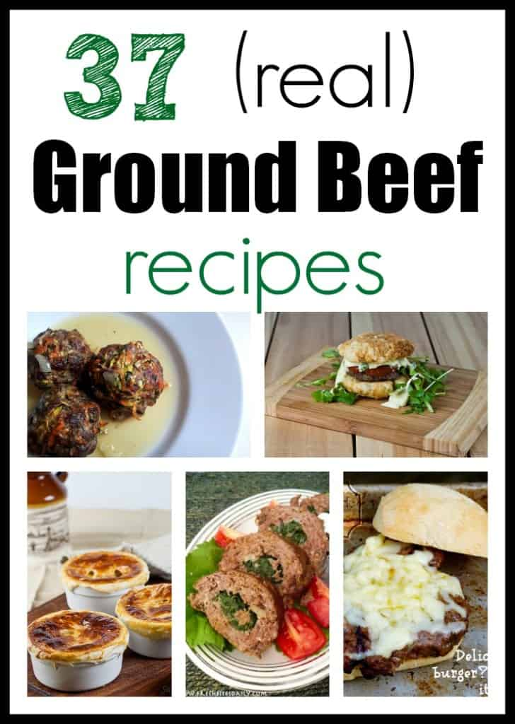 37 Ground Beef Recipes