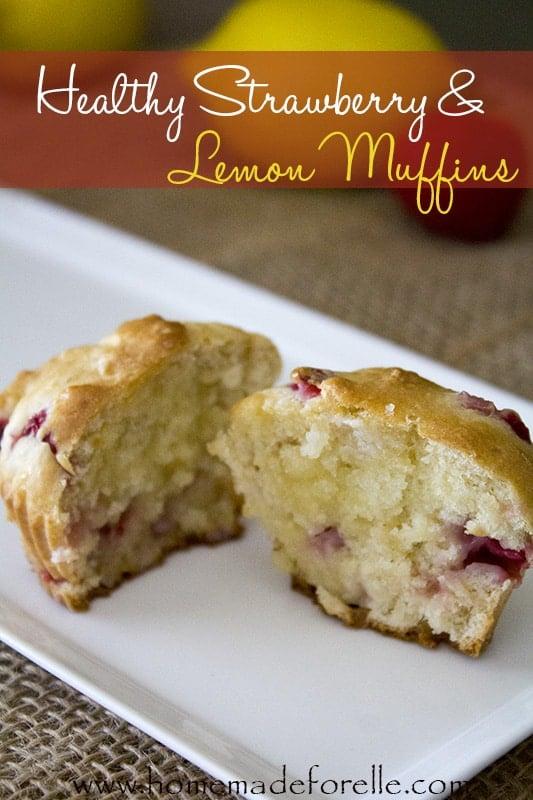 Strawberry & Lemon Muffins