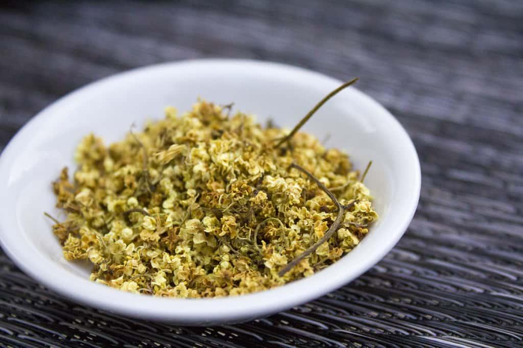 Uses for Dried Elderflowers