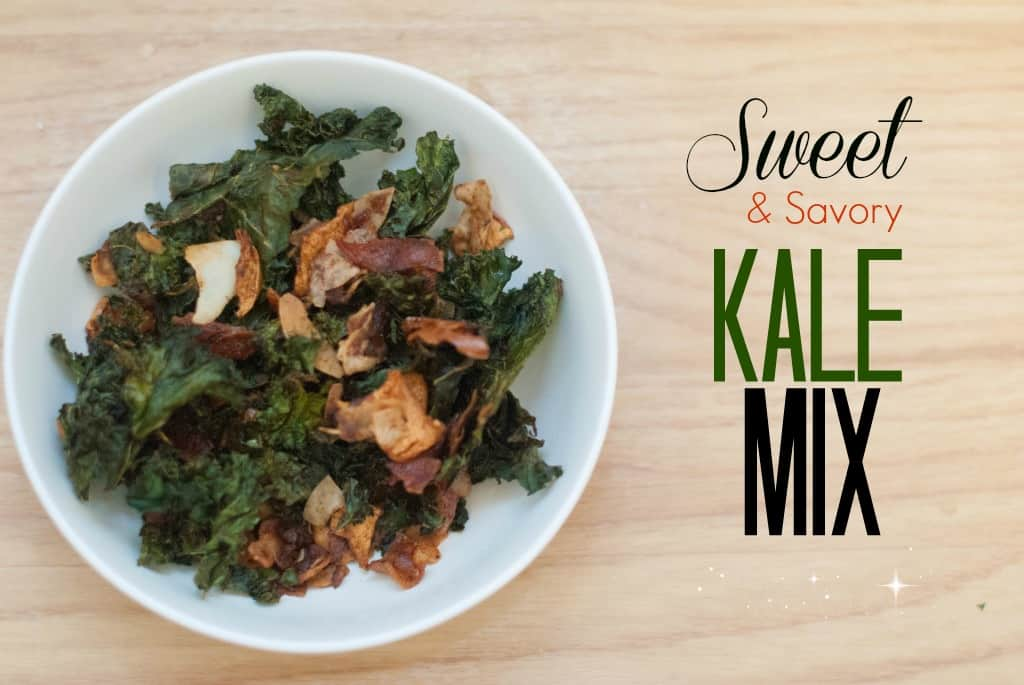 Sweet and Savory Kale Chips Mix