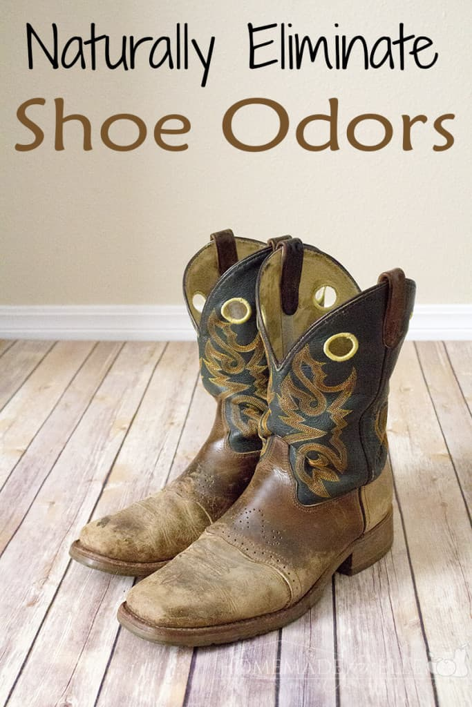 Naturally Eliminate Shoe Odor
