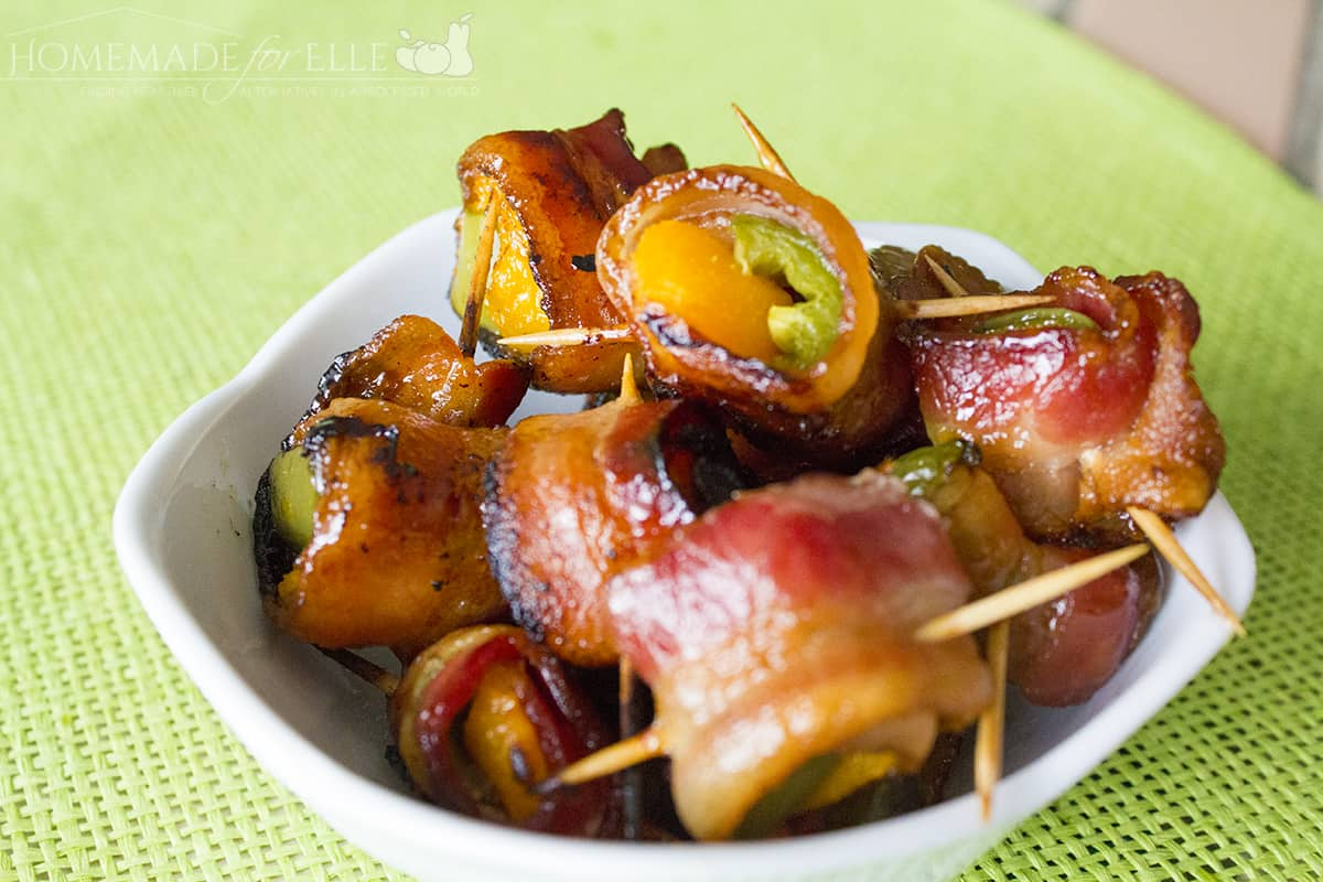 Bacon-Wrapped Apricots & Jalapenos
