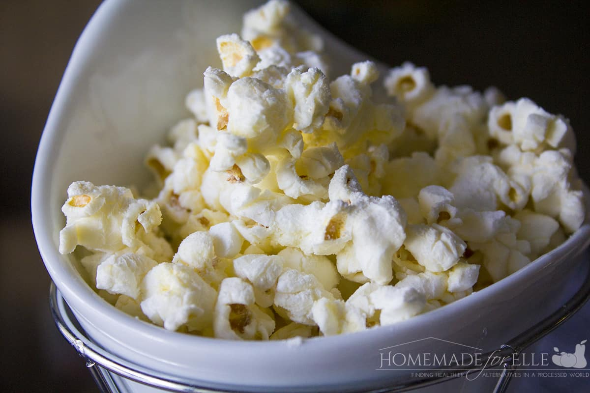 How to Make Cheese Popcorn