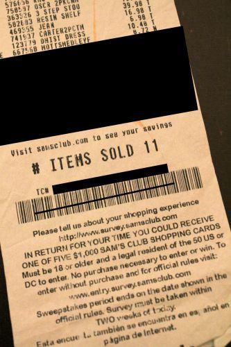sams receipt homemade for elle