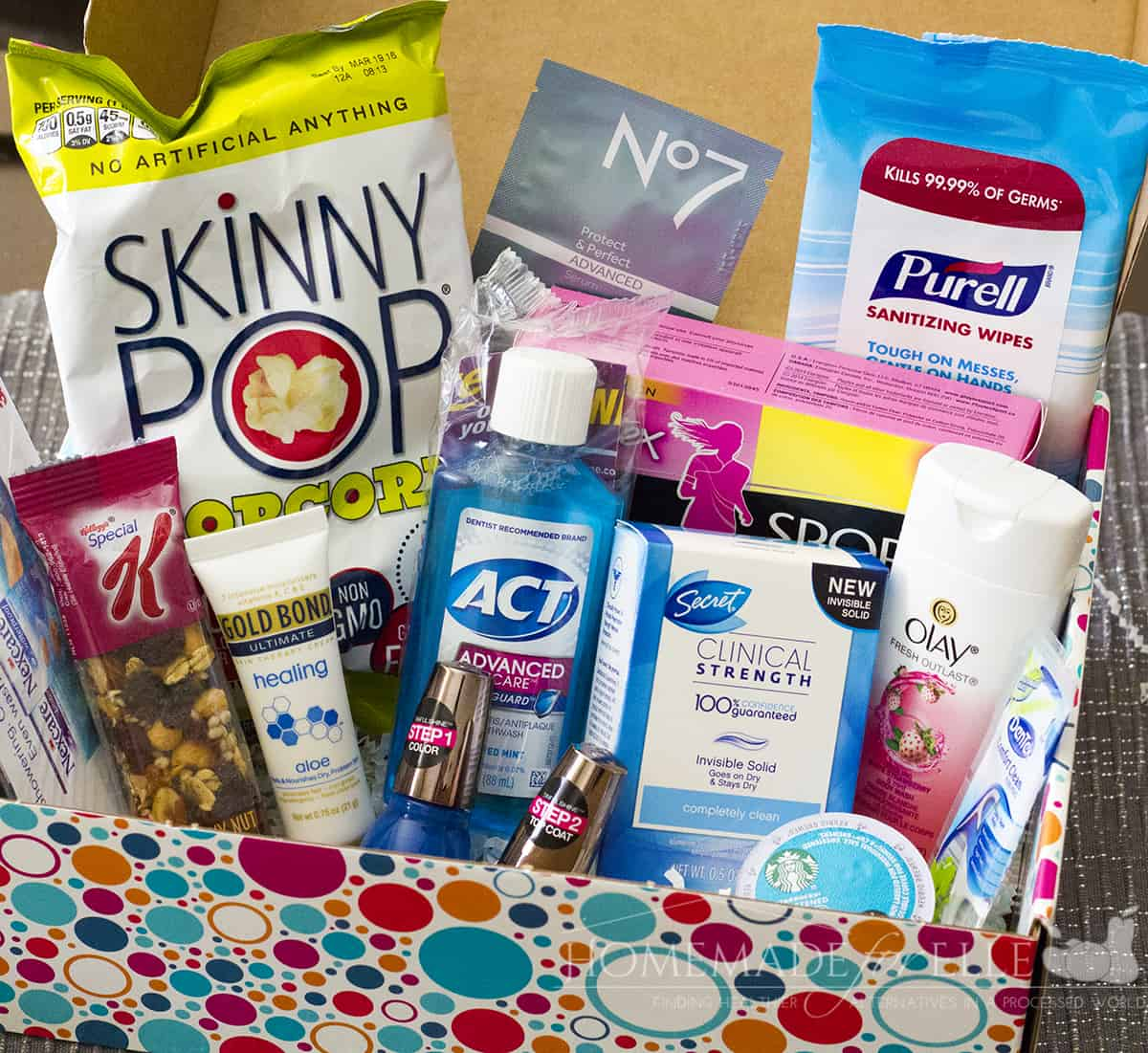 Free Monthly Sample Boxes with PinchMe