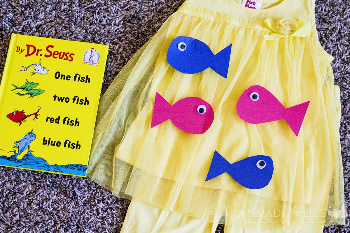 One Fish Two Fish Costume DIY Dr Seuss Costume