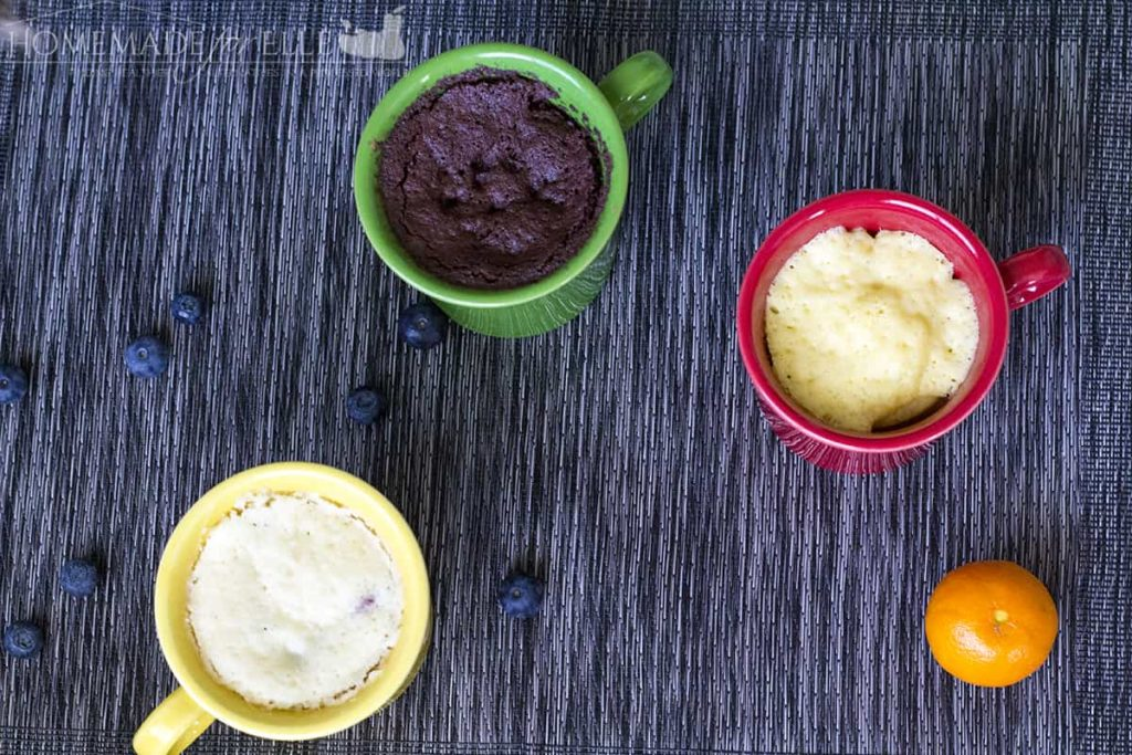 Clean Eating Mug Cakes