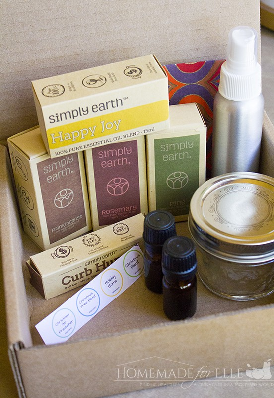 Essential Oil Recipes Box