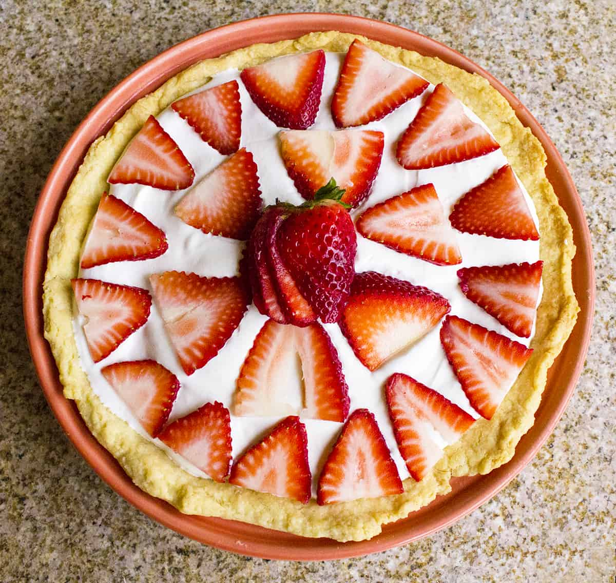 Clean Eating Strawberry Pie