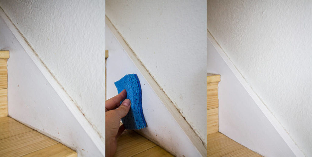 Easiest Way to Clean Walls & Baseboards