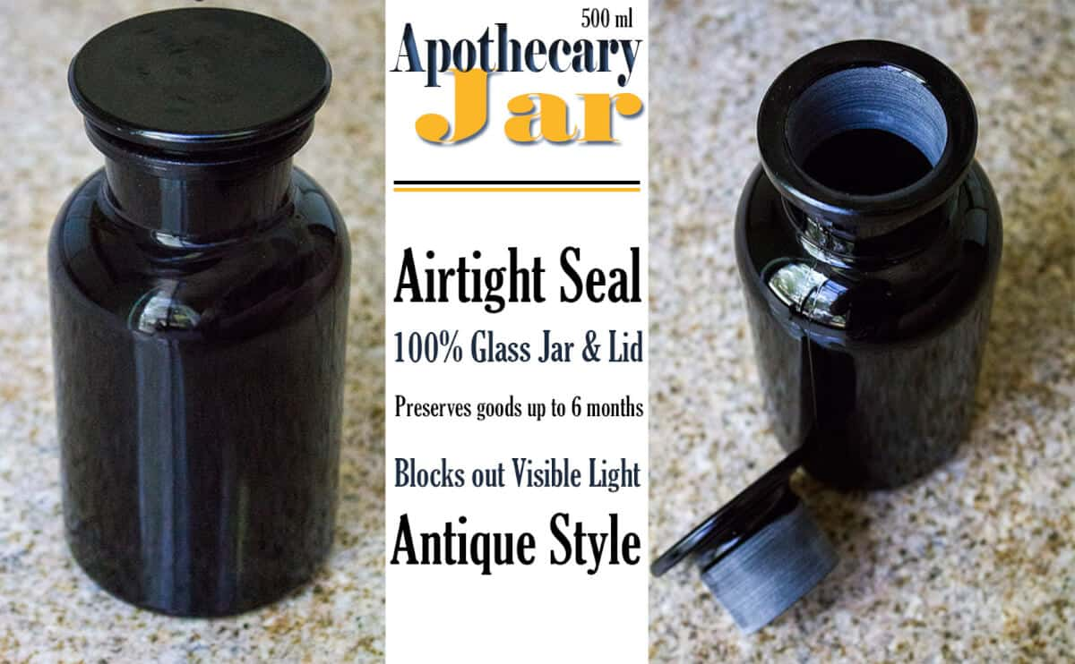 Airtight Glass Storage Jars