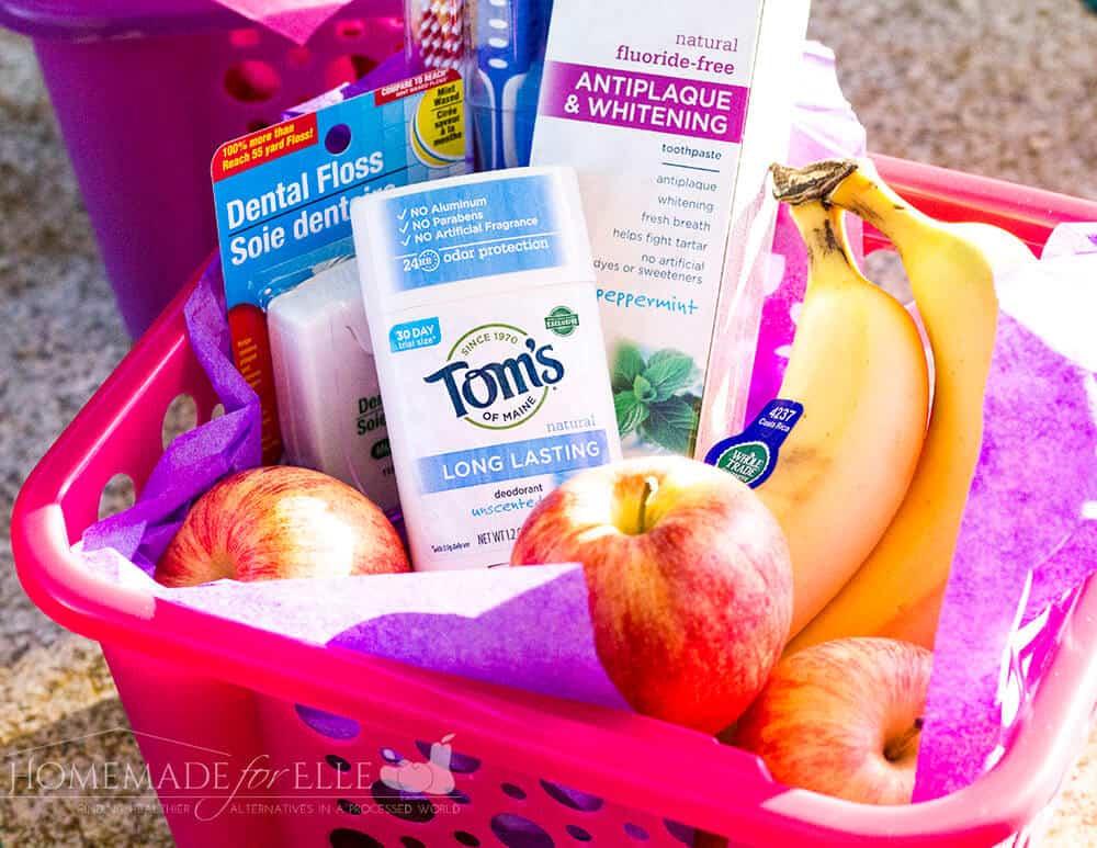 Teacher's Survival Gift Basket