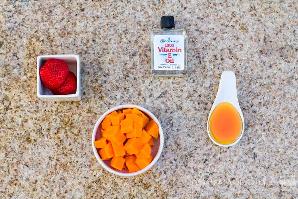 Strawberry & Sweet Potato Anti Aging Mask