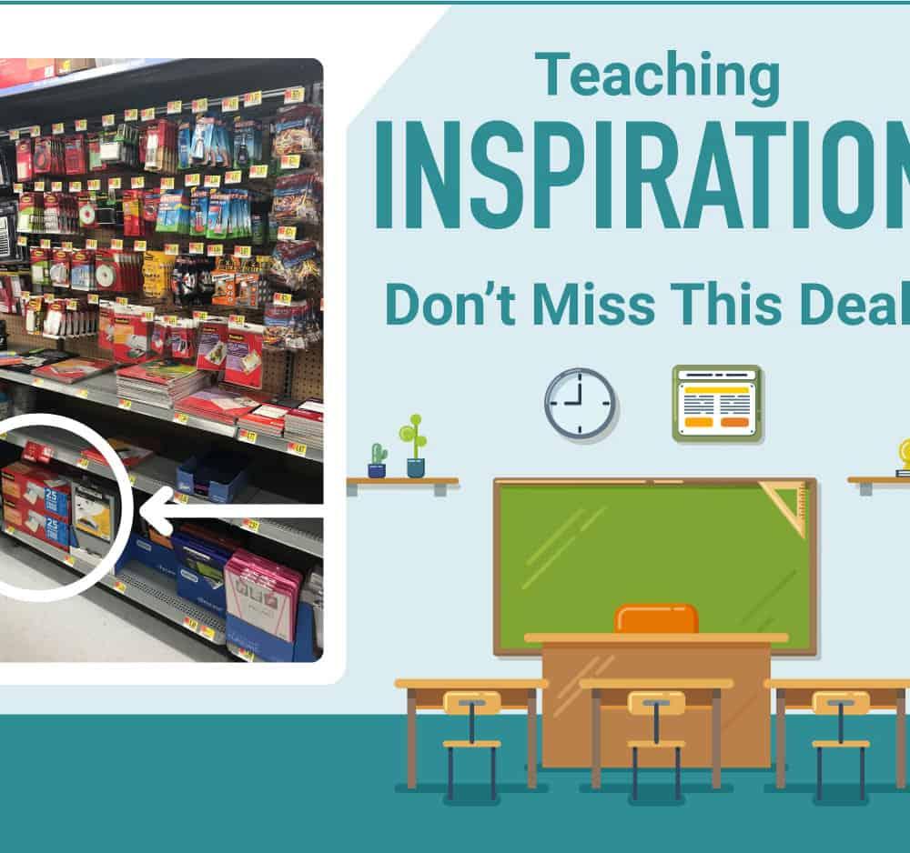 Teacher Inspiration Tips & Gift Ideas