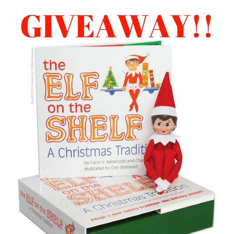 Elf on the Shelf Giveaway