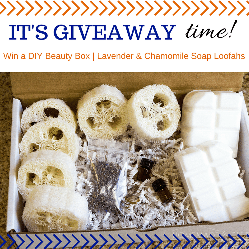 Lavender & Chamomile Soap Loofah Giveway