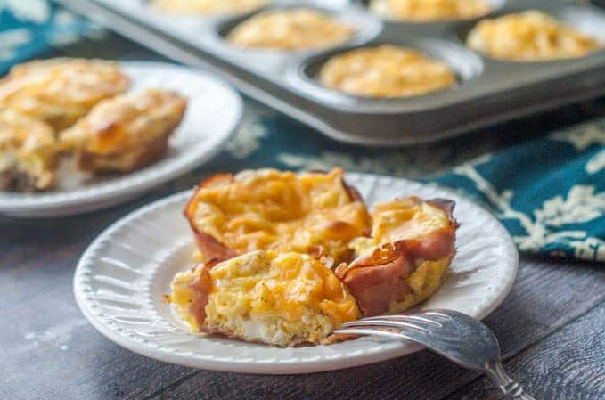 Easy Breakfast Sausage Egg Cups