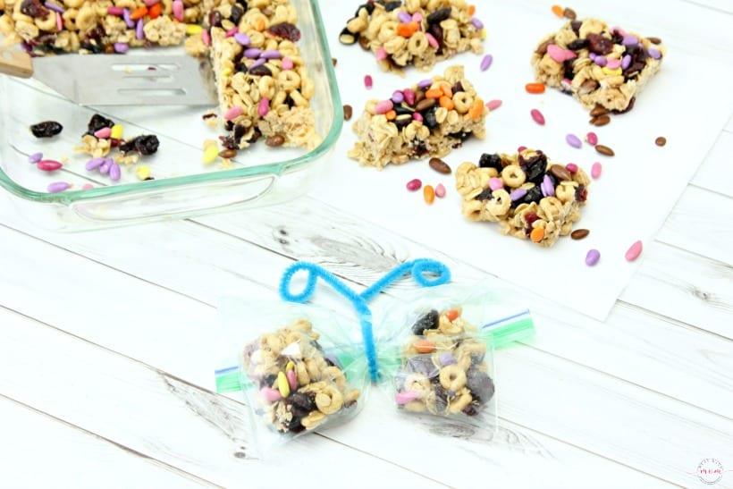 Healthy Honey Nut and Oatmeal Breakfast Bar