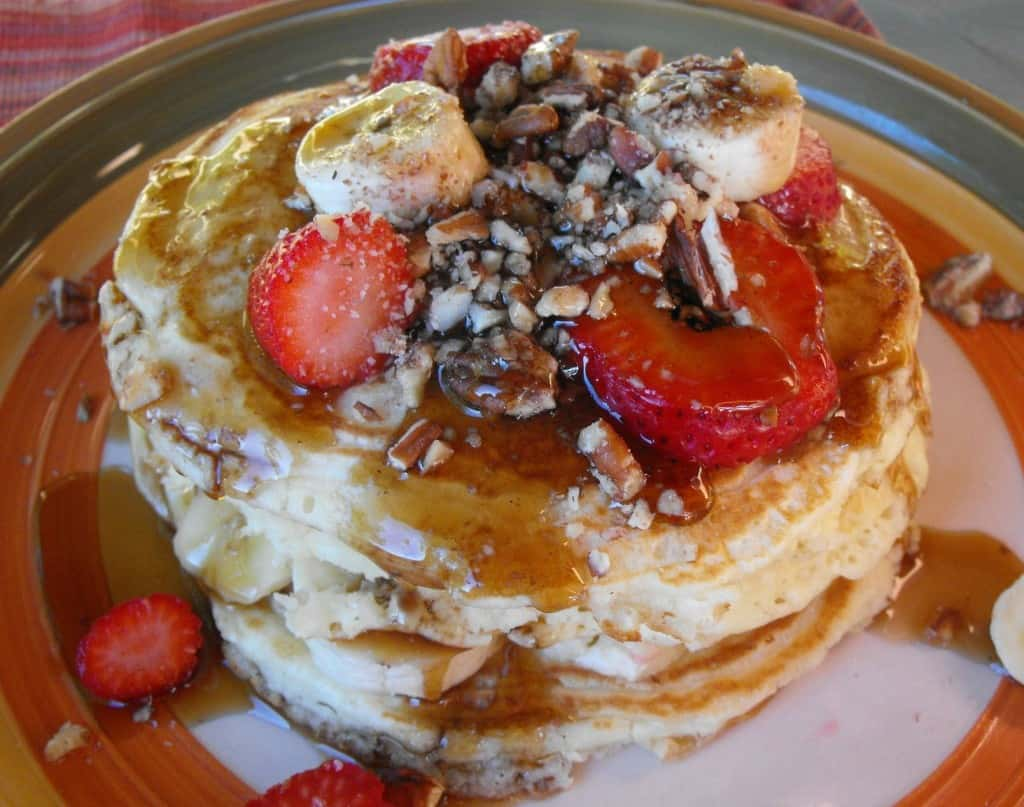 Old Fashioned Pancakes from Scratch