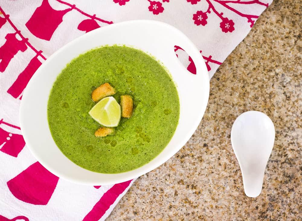 Green Gazpacho Soup