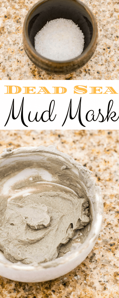 Homemade Dead Sea Mud Mask