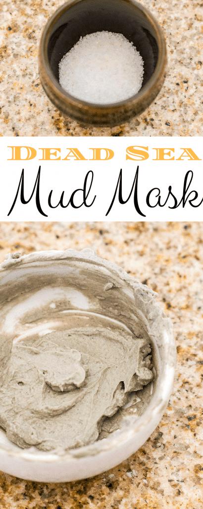 Homemade Dead Sea Mud Mask