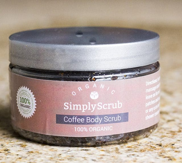 Simply Scrub Organic Body Scrubs