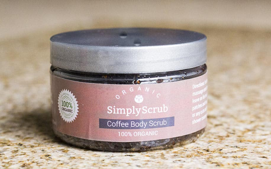 Simply Scrub Organic Body Scrubs