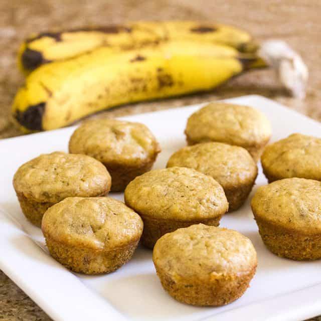 Clean Eating Banana Muffins {a Kid-friendly recipe!}