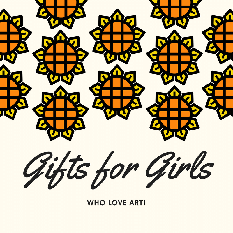 Best Gifts for Girls who Love Art {Ages 7 – 10!}