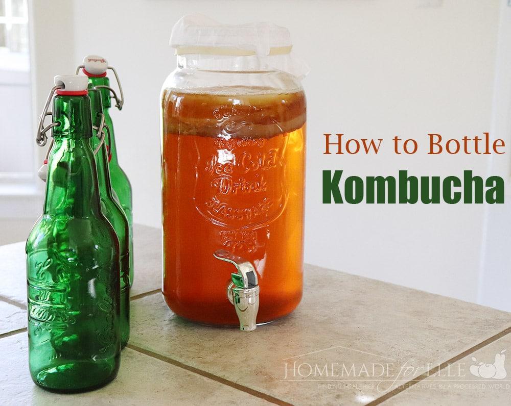 How to Bottle Kombucha