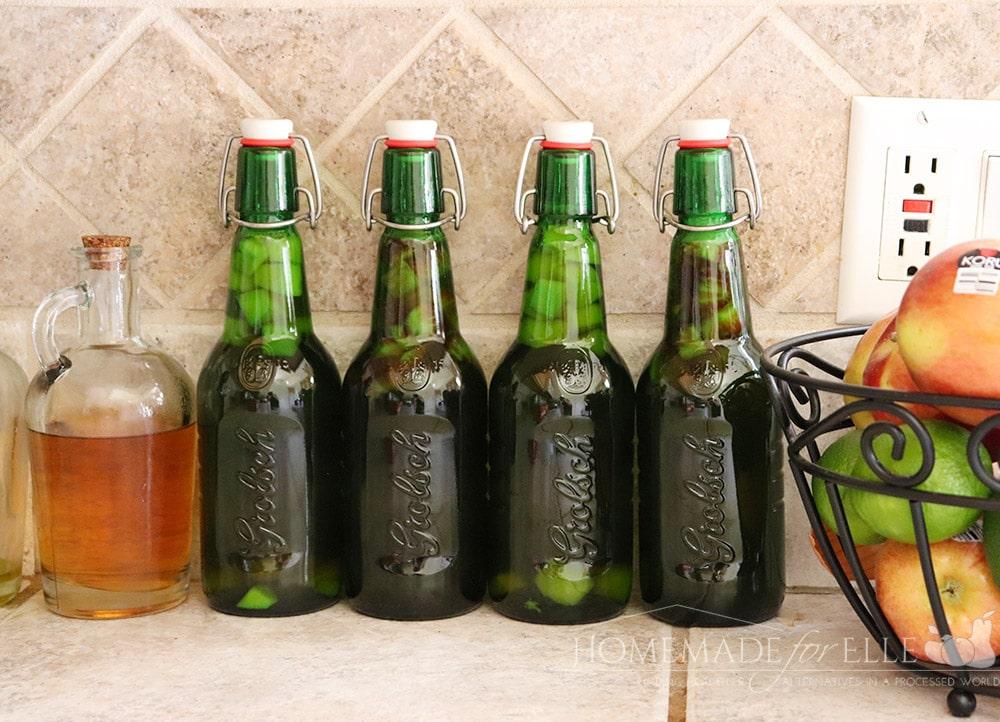 How to second ferment kombucha