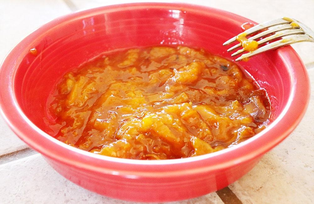 Apricot and Dijon Jam