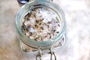 Lavender Bath Salts {give yourself a spa day!}